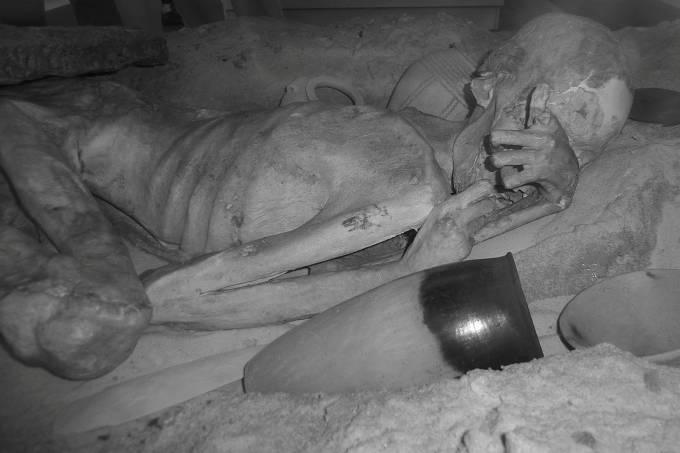 Tatuagens são encontradas em múmias de 5.000 anos de idade