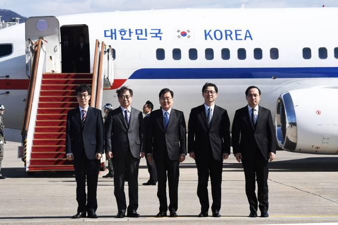 Delegação sul-coreana se encontra com Kim Jong-Un