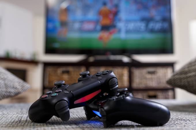 Controles de video game