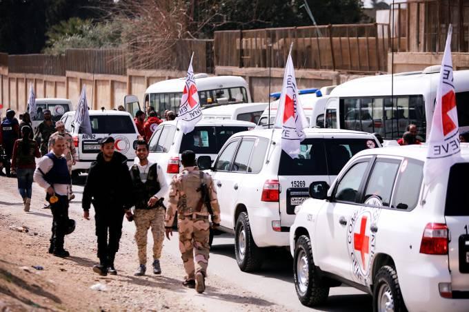 Guta Oriental recebe ajuda humanitária