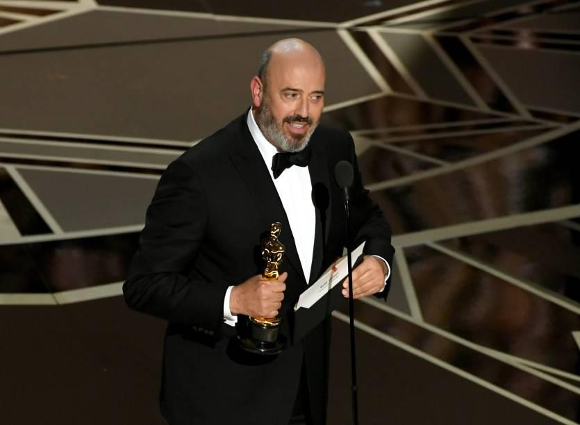 O figurinista Mark Bridges leva o Oscar de melhor figurino por 'Trama Fantasma'