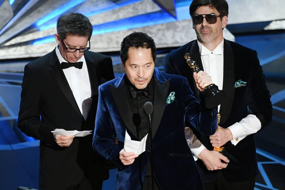 'A Forma da Água' leva o Oscar de direção de arte