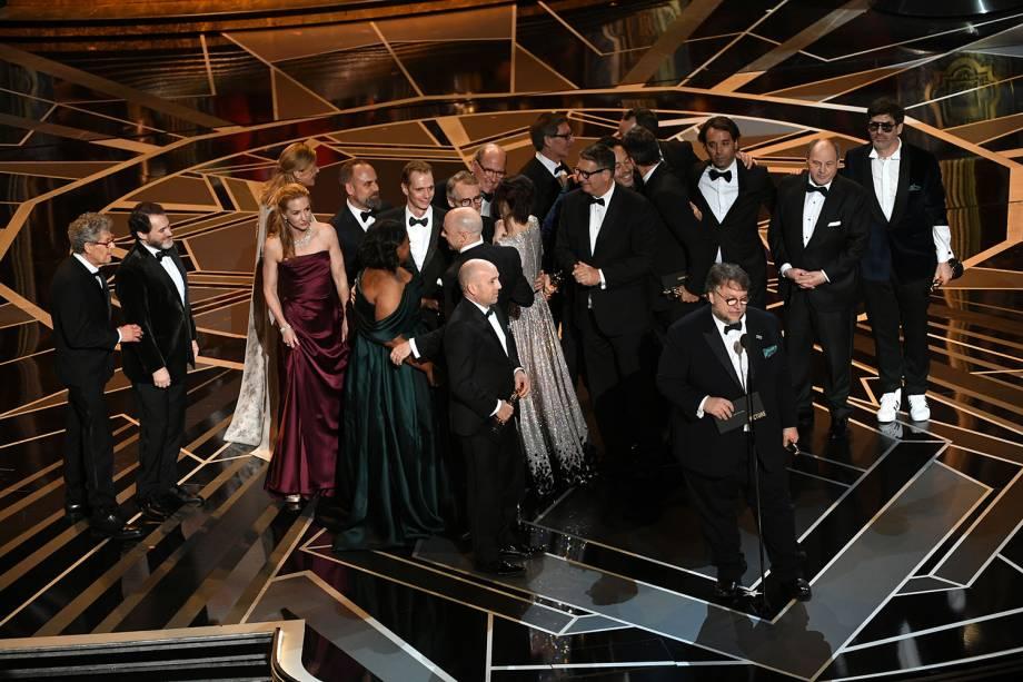 'A Forma da Água' ganha o Oscar de melhor filme