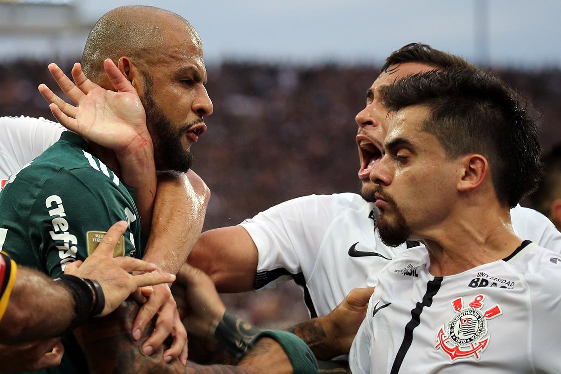 Palmeiras venceu o Corinthians
