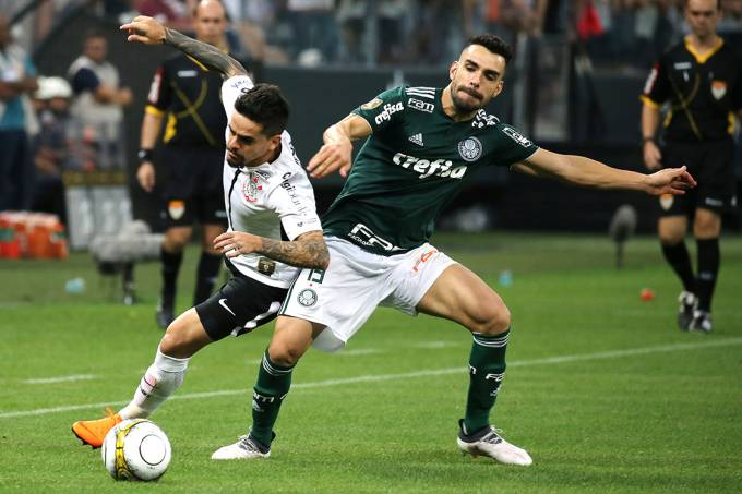 Soccer Football – Corinthians v Palmeiras – Sao Paulo Championship