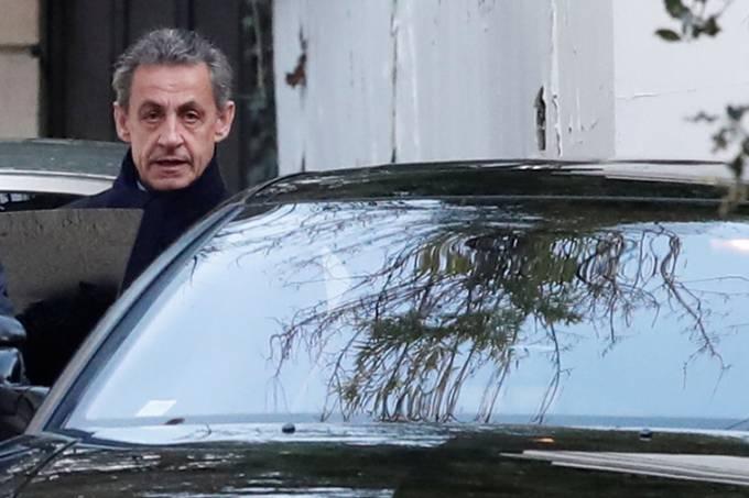 Ex-presidente francês Nicolas Sarkozy