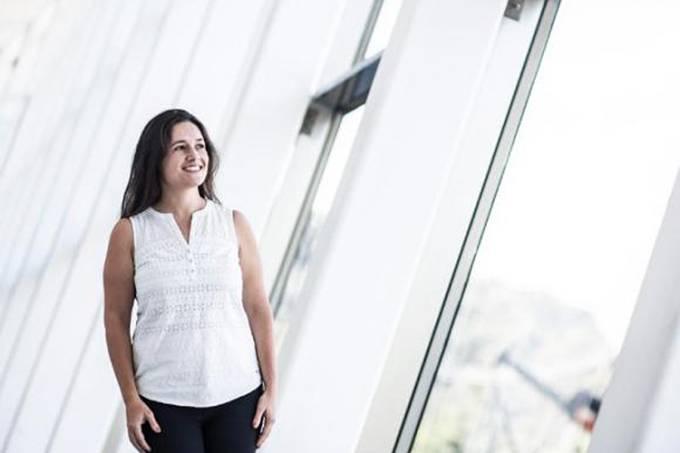 A pesquisadora Rafaela Ferreira