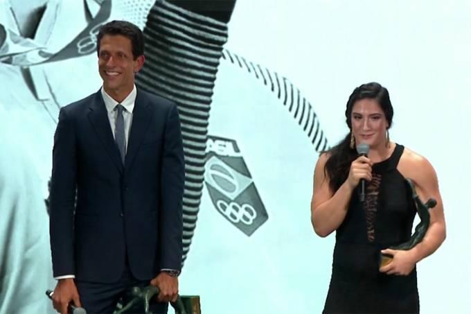 Mayra Aguiar e Marcelo Melo vencem o Prêmio Brasil Olímpico