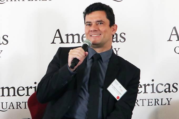 Sergio Moro e Janot em New York no Evento Americas Society em Ne
