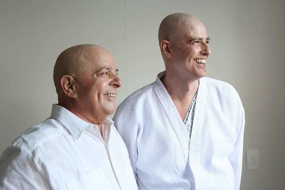 Em 2011, Lula recebe o diagnóstico de câncer na laringe. Durante o tratamento, foi submetido a radio e quimioterapia. Meses depois, em 2012, já curado e ainda careca, posa para foto ao lado do ator Reynaldo Gianecchini, que enfrentava um câncer no sistema linfático.