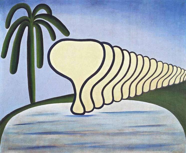 'O Sono', de Tarsila do Amaral (1928)
