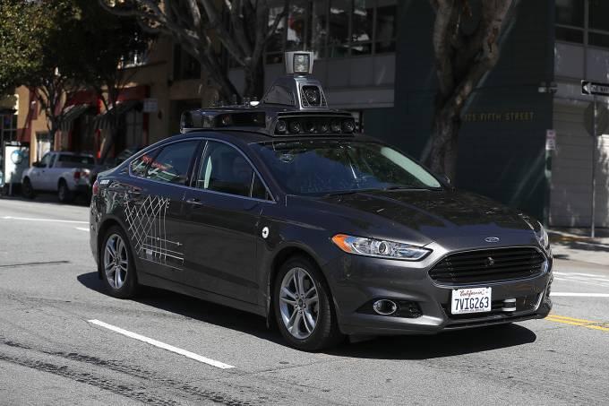 Carro autônomo Uber
