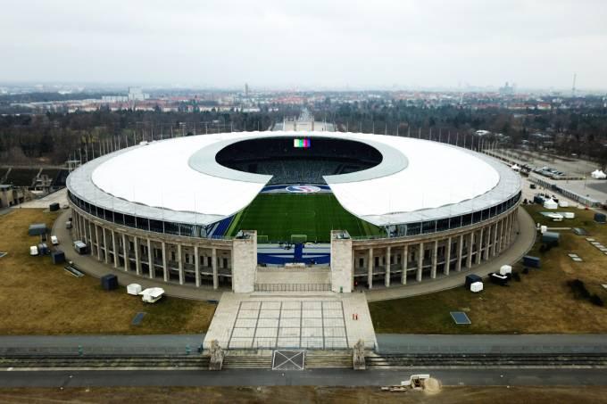 Estádio Olímpico recebe o amistoso entre Alemanha e Brasil, em Berlim