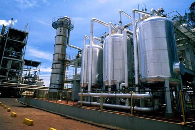 Usina de etanol Santa Elisa, em Sertãozinho, São Paulo