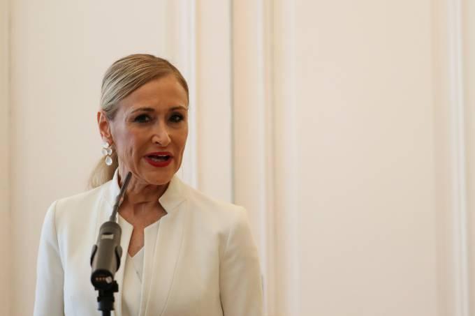 A presidente regional de Madri, Cristina Cifuentes
