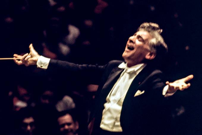 Batuta de pop star – Bernstein, em 1975: espalhafato e drama, mas com absoluto respeito à obra