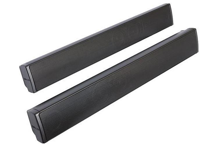 Soundbars, utilizados em home theater