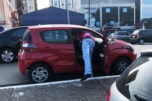 Militantes furtam chave de veículo em São Bernardo