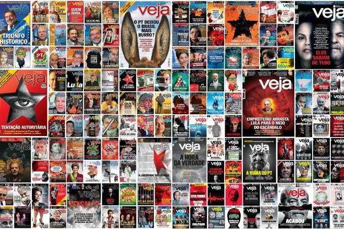 Capas de VEJA – Viés autoritário – Ed 2577