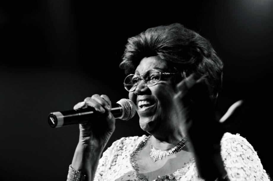 Dona Ivone Lara durante show