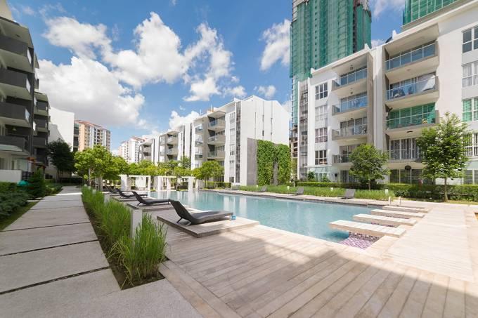 Condomínio de apartamentos
