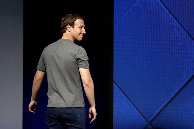 Fundador e CEO do Facebook, Zuckerberg