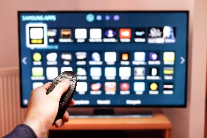Navegando na Internet pela televisão