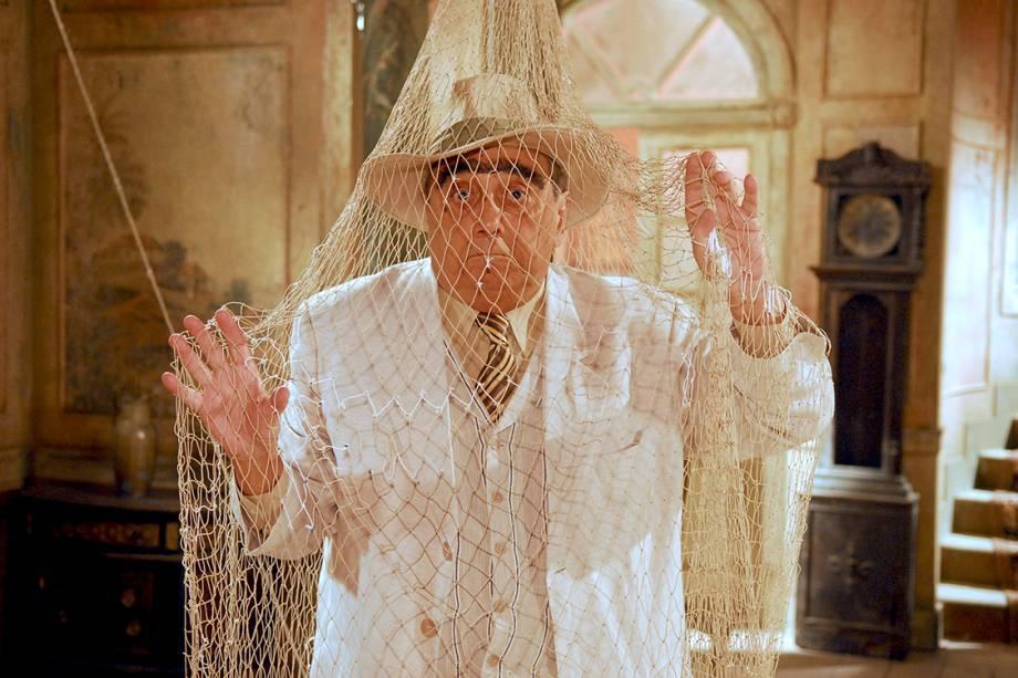 Agildo Ribeiro como o Coronel em Sítio do Picapau Amarelo