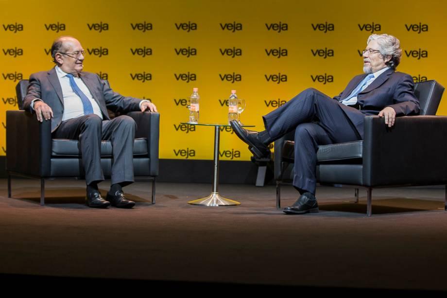 O ministro do STF Gilmar Mendes foi entrevistado pelo diretor de redação de VEJA, André Petry - 24/04/2018