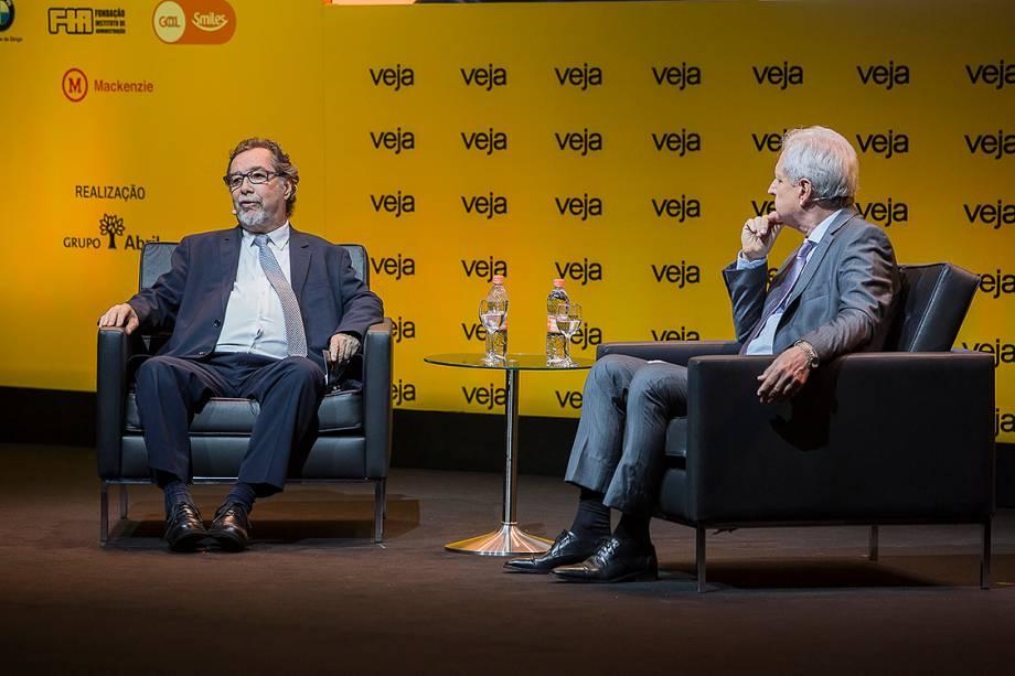 Acioli Cancellier de Olivo falou com o colunista de VEJA Augusto Nunes - 24/04/2018