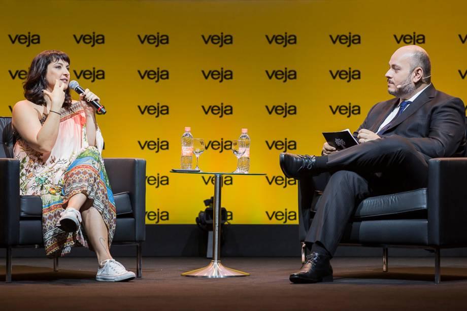 Cofundadora do YOUPIX Bia Granja foi entrevistada pelo editor especial de VEJA, Daniel Bergamasco - 24/04/2018