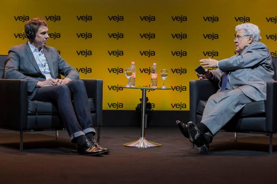Liegey foi entrevistado pelo colunista de VEJA Ricardo Noblat - 24/04/2018