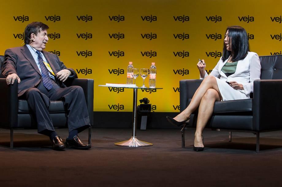 Jaime Durán Barba foi entrevistado pela redatora-chefe de VEJA Thaís Oyama - 24/04/2018