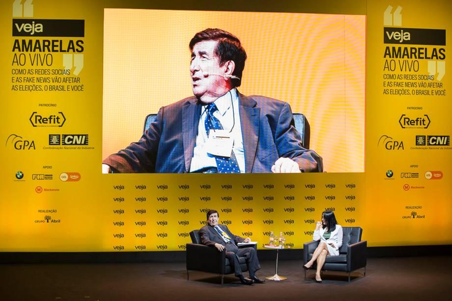 """<span><a href=""""https://veja.abril.com.br/brasil/duran-barba-mentiras-em-campanha-nao-duram-na-internet/"""">""""A primeira coisa que nós falamos para um candidato é 'não minta'. Na era da internet é muito fácil que alguém descubra. Isso tira a credibilidade do candidato, que é sua principal arma""""</a>, disse Durán Barba à</span>redatora-chefe de VEJA Thaís Oyama - 24/04/2018"""