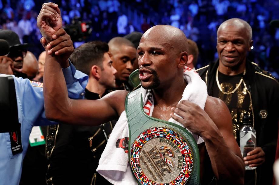 1. O ex-boxeador Floyd Mayweather Jr -<span>US$ 285 milhões</span>