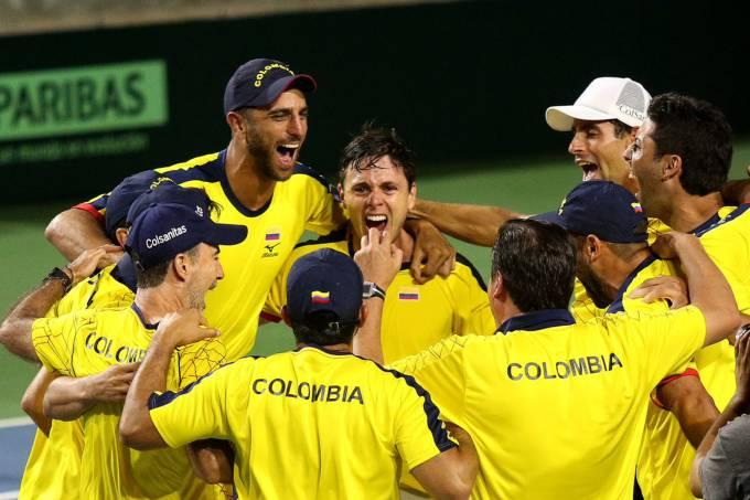 Copa Davis – Brasil x Colômbia