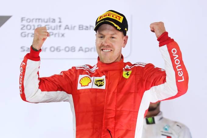 Vettel vence o GP do Bahrein de Fórmula 1