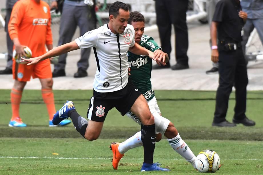 Partida entre Palmeiras e Corinthians, válida pela final do Campeonato Paulista - 08/04/2018