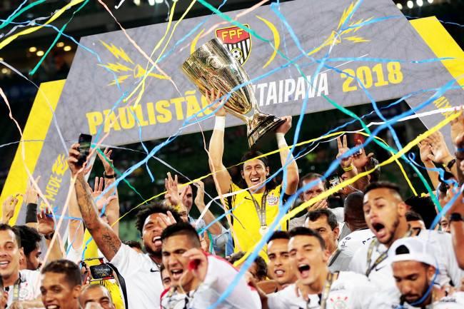 O Corinthians conquista o título do Campeonato Paulista de 2018 - 08/04/2018