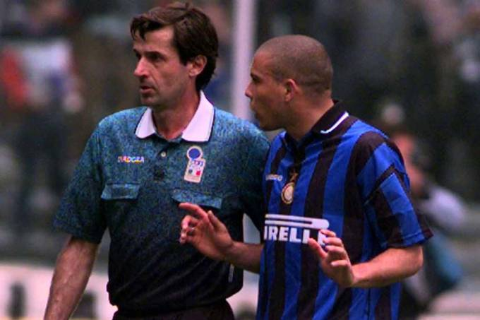 Piero Ceccarini e Ronaldo