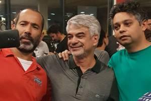 O senador Humberto Costa (PT-PE), faz selfie com militantes no Sindicato dos Metalúrgicos do ABC, na cidade de São Bernardo do Campo (SP) - 06/04/2018