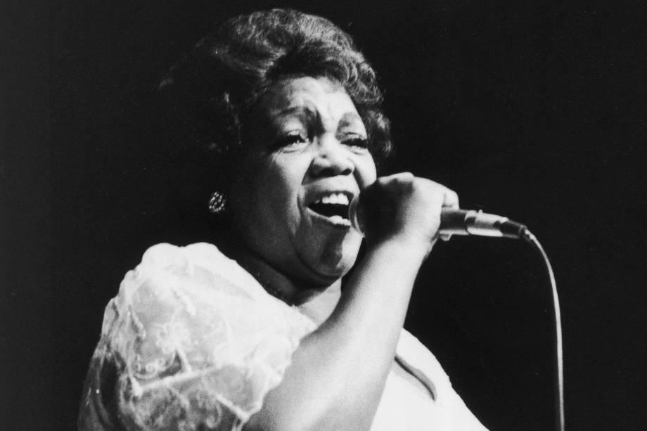 Ivone Lara, cantora e compositora em 1978