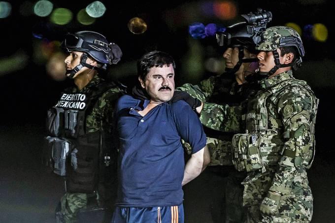 Mestre das fugas – El Chapo, finalmente preso em 2016: o vácuo que ele deixou já foi preenchido por outros bandidos