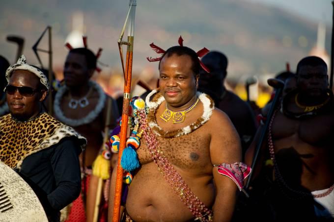 Rei Mswati III da Suazilândia