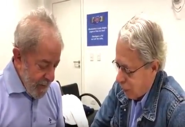 Lula e Frei Betto