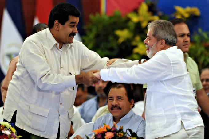Nicolás Maduro e Lula
