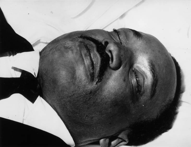 Ativista dos direitos civis Martin Luther King Jr. morto em Memphis durante uma missão - 08/04/1968