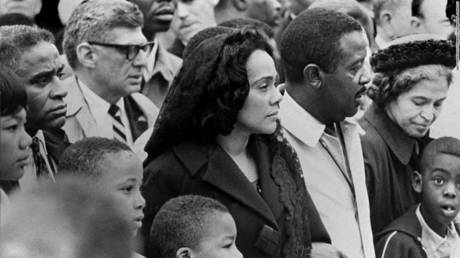 Marcha em Memphis realizada em protesto a morte do Rev. Martin Luther King Jr.