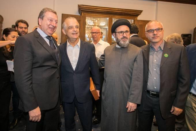 Márcio França recebe comunidade libanesa