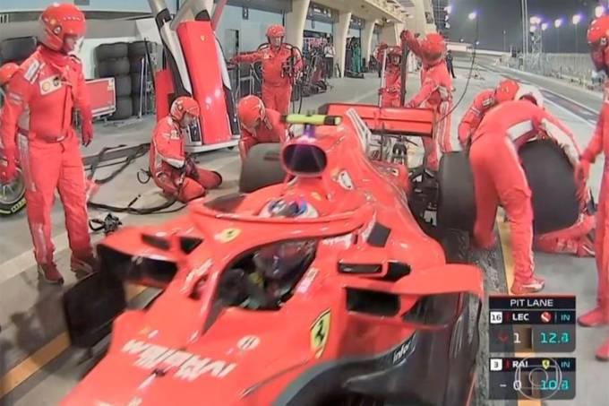 Mecânico da Ferrari é atropelado